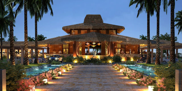 Central America resort_