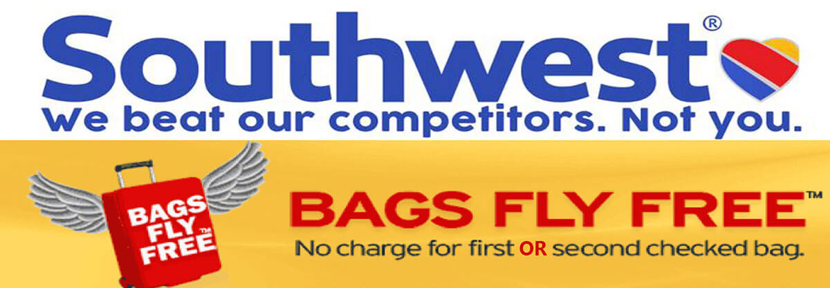 Southwest - Bags Fly Free